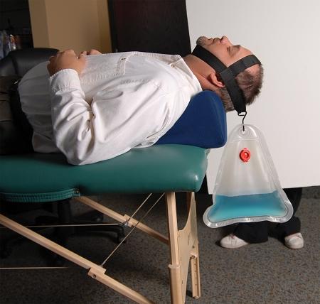 Cervical Traction System With Soothe A Ciser