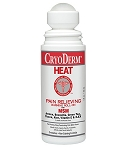Cryoderm Heat 3oz Roll-On